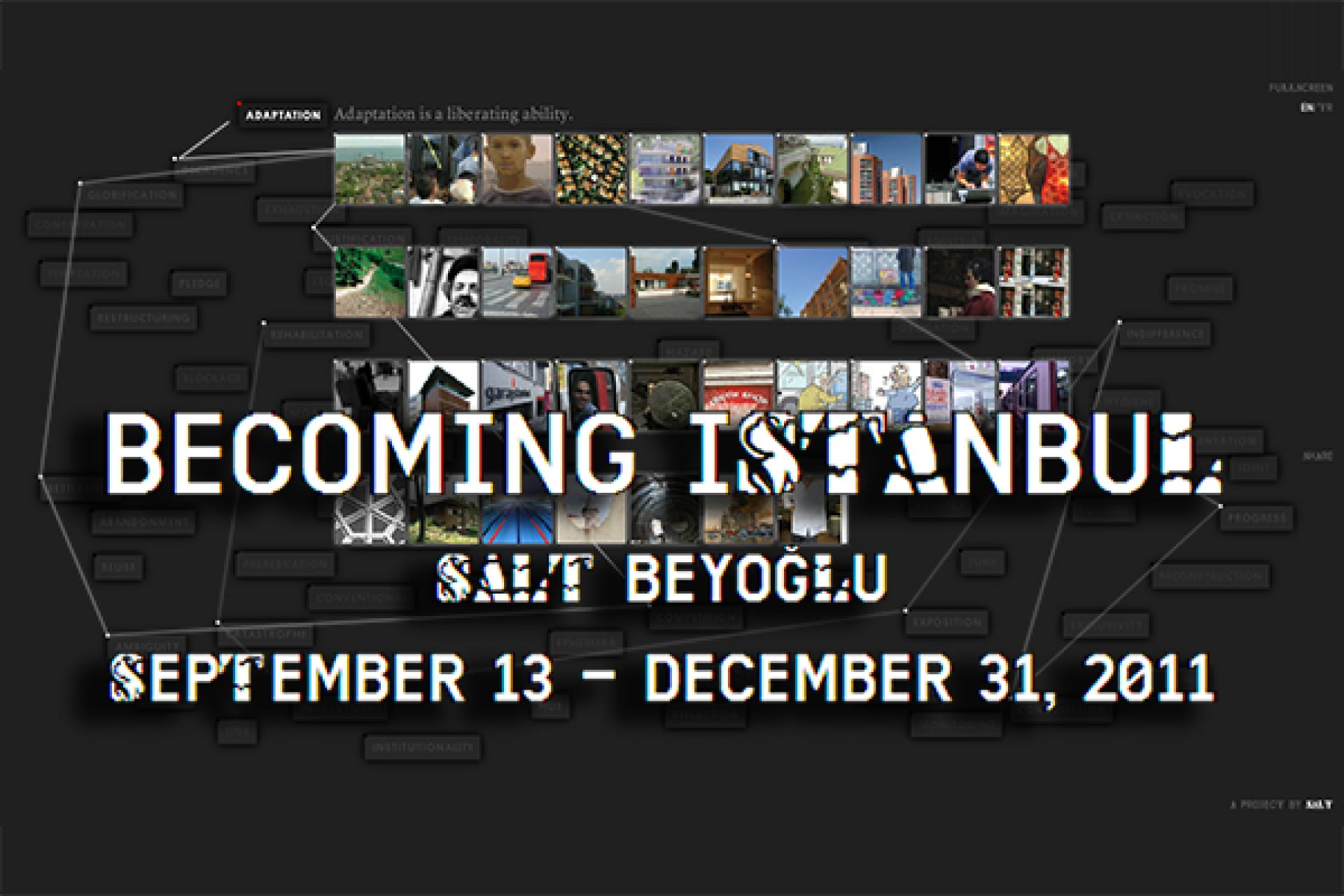 Becoming İstanbul - database
